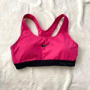Nike Swoosh Dri-Fit Sports Bra - Small